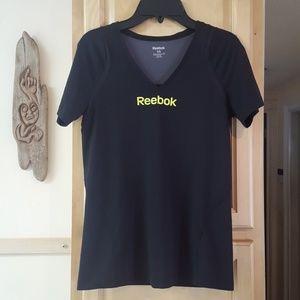 Reebok V Neck Short Sleeve Top Size Xtra Small